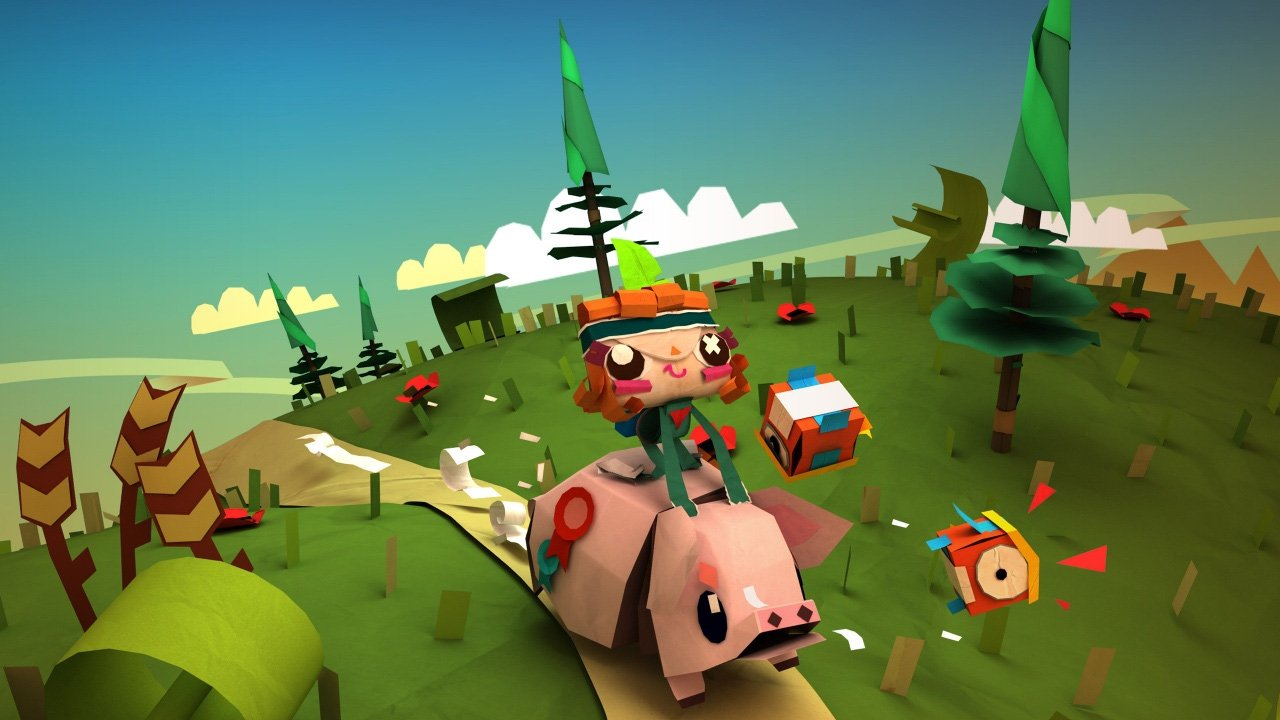 Tearaway Unfolded (PS4) Review 1