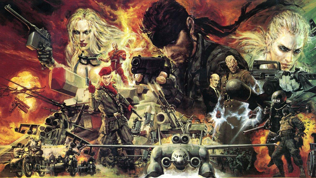Metal Gear Solid 3: Snake Eater - Art By Noriyoshi Ohrai
