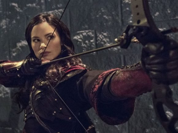 Katrina Law Talks Arrow - 2015-10-08 10:33:36