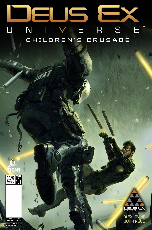 New Deus Ex Issue #1 Cover Variants Unveiled - 2015-12-01 11:59:15