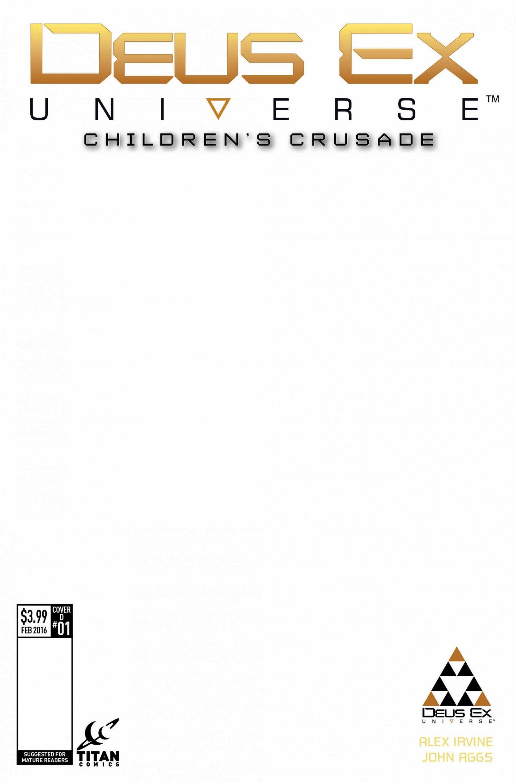 New Deus Ex Issue #1 Cover Variants Unveiled - 2015-12-01 12:00:22