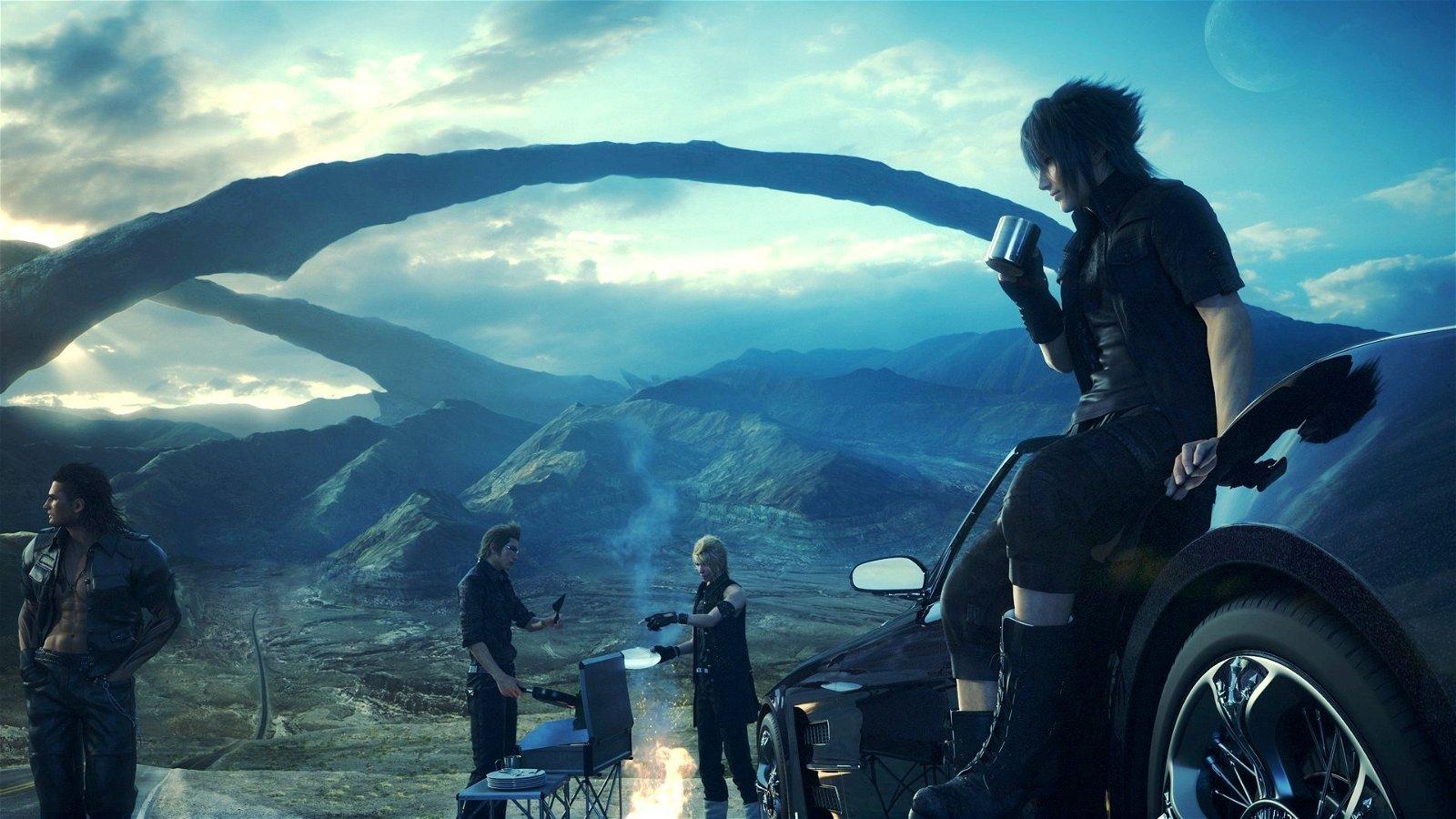 Developer Explains Current State of Final Fantasy XV Production