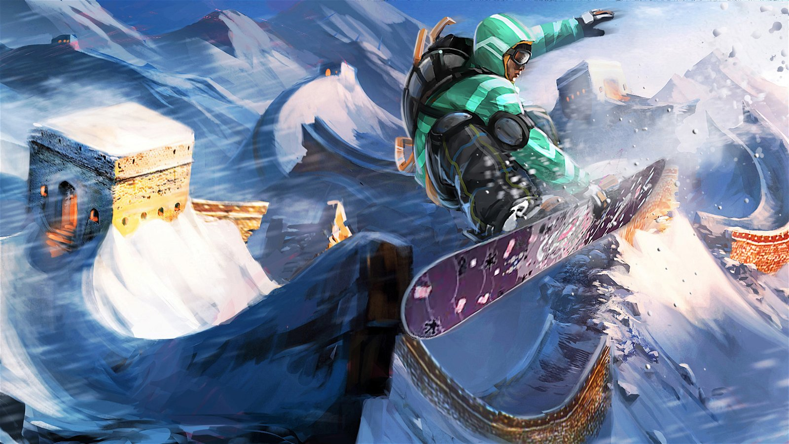 Why a Fun, Realistic Snowboarding Game is Impossible 5