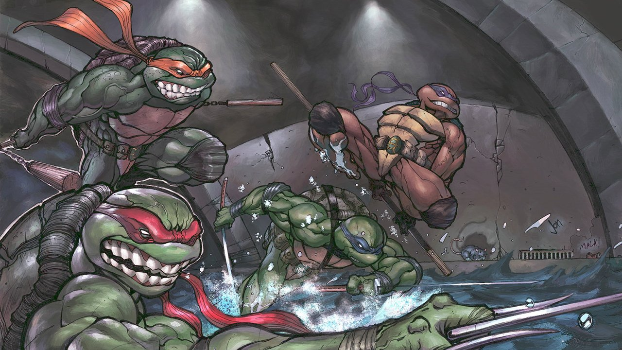 Platinum Games Working on New TMNT Game - 2015-12-01 07:46:54