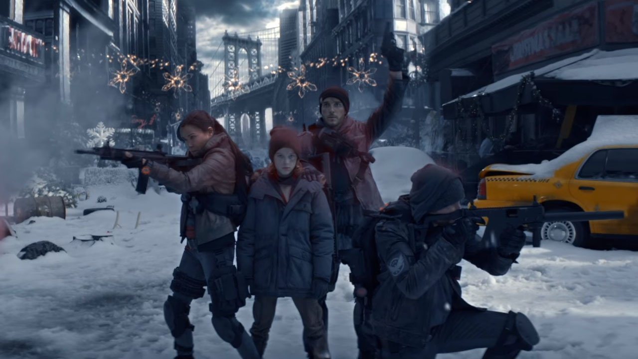 Tom Clancy's The Division Releases Depressing Live Action Trailer - 2015-12-17 15:06:26