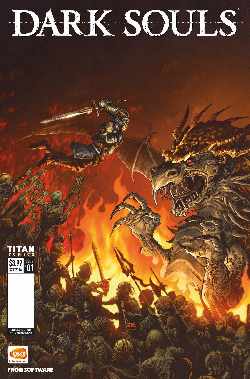 New Dark Souls Comic Series Announced - 2016-01-20 08:34:29