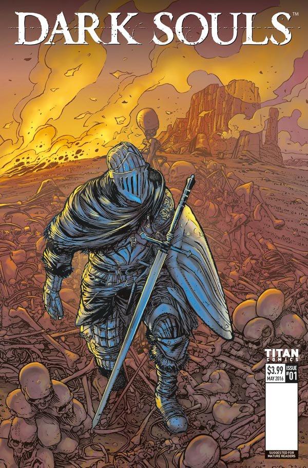 New Dark Souls Comic Series Announced - 2016-01-20 08:33:27