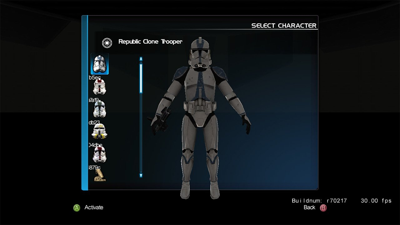 Star wars battlefront 3 xbox 360 leaked celebrity
