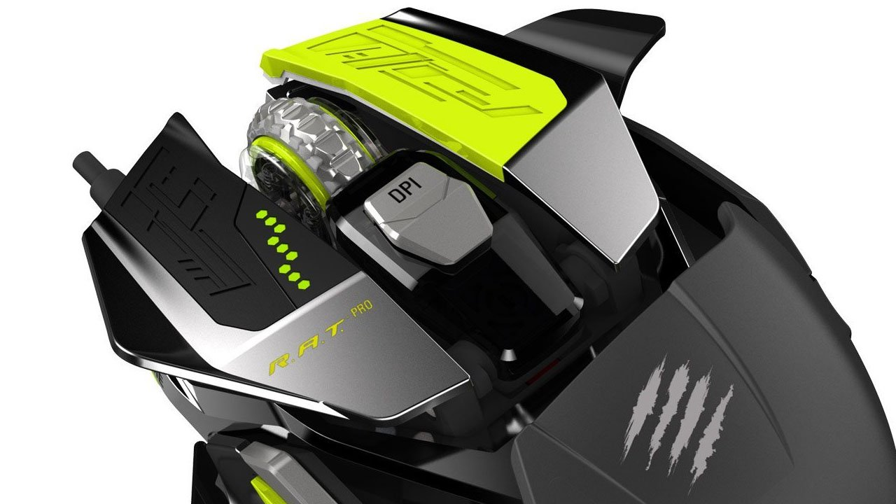 Mad Catz R.A.T. Pro X Gaming Mouse (Hardware) Review 3