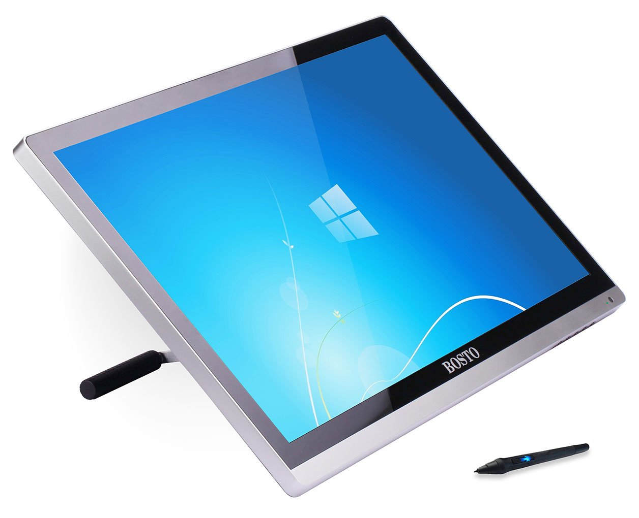 Drawing Lines With Tablet : Bosto kingtee u mini pen display tablet hardware review