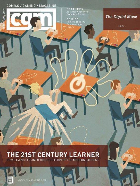 CGMagazine February 2015: The Education Issue