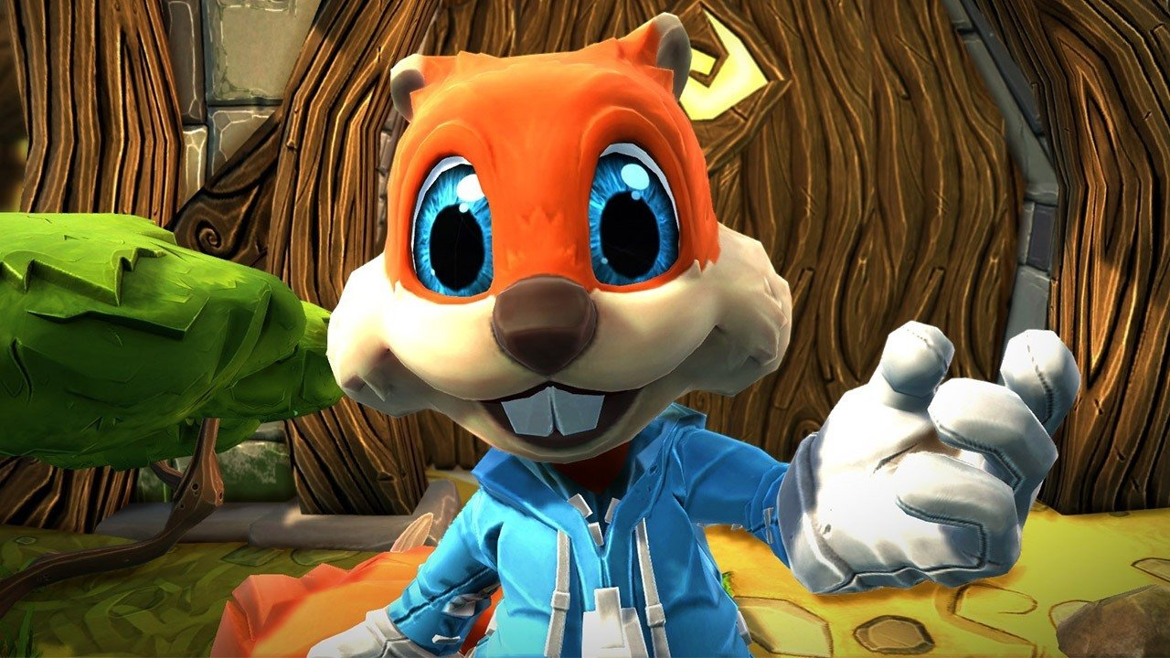 Conker is Back Only on Microsoft Hololens