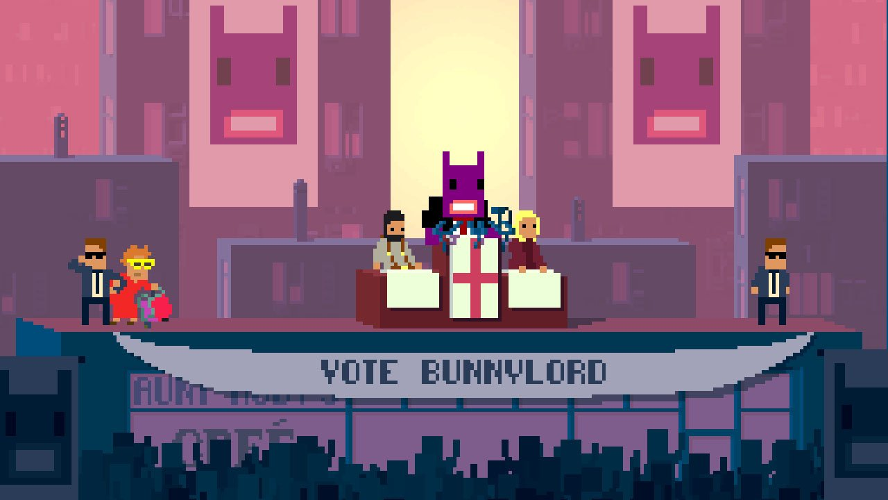 Not a Hero (PS4) Review 4
