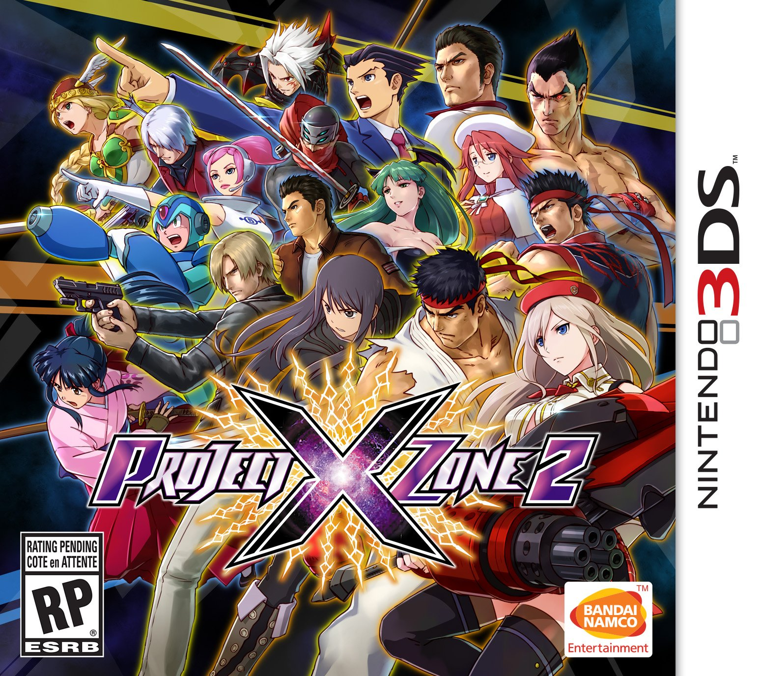 Project X Zone 2: Brave New World  (3DS) Review 5