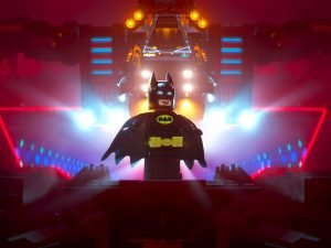 A sneak peek in to Lego Batman's brick world