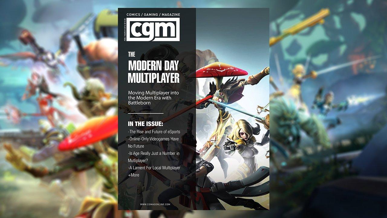 CGMagazine March 2016: Modern Multiplayer
