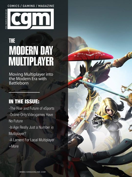 Cgmagazine March 2016: Modern Multiplayer 1
