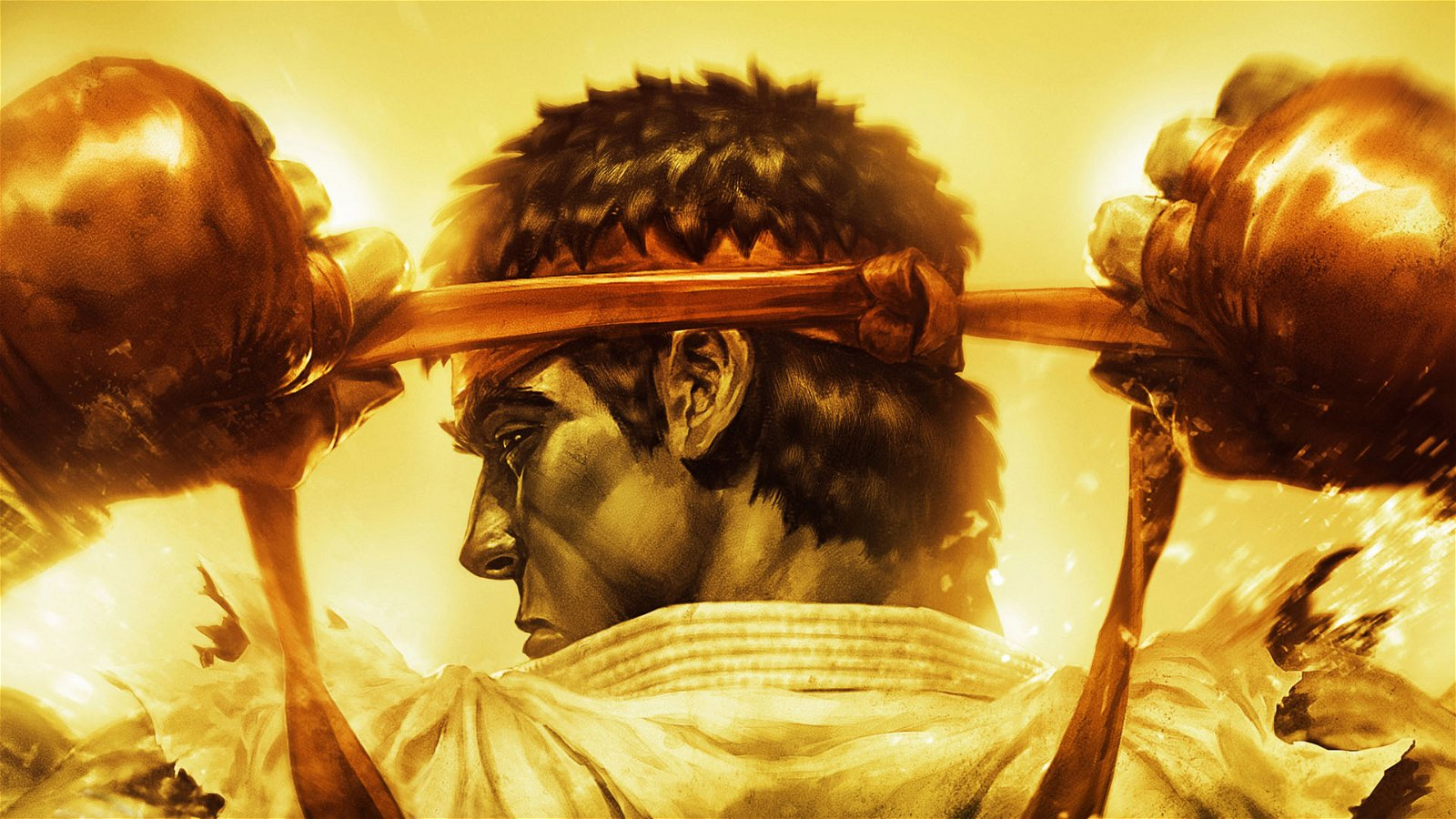 Street Fighter Ryu Hadouken Wallpaper