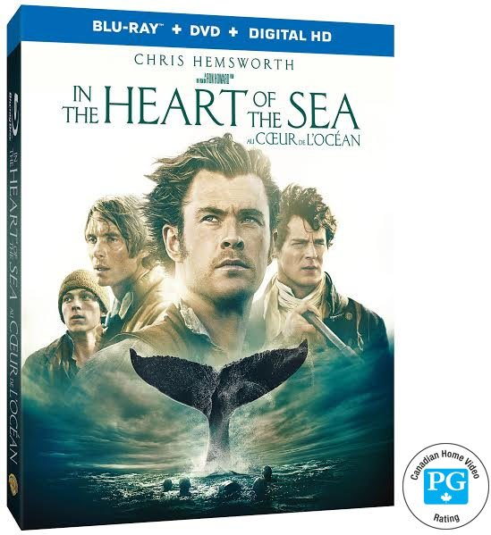 Heart of the Sea Blu-Ray Giveaway