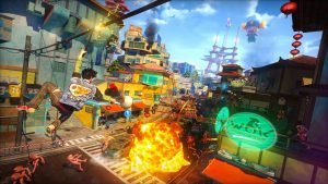 Sunset Overdrive Headlines April 2016's Games with Gold
