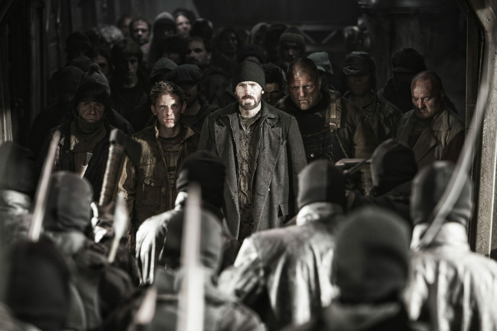 The Top Ten Winter Misery Genre Movies - Snowpiercer (2013)