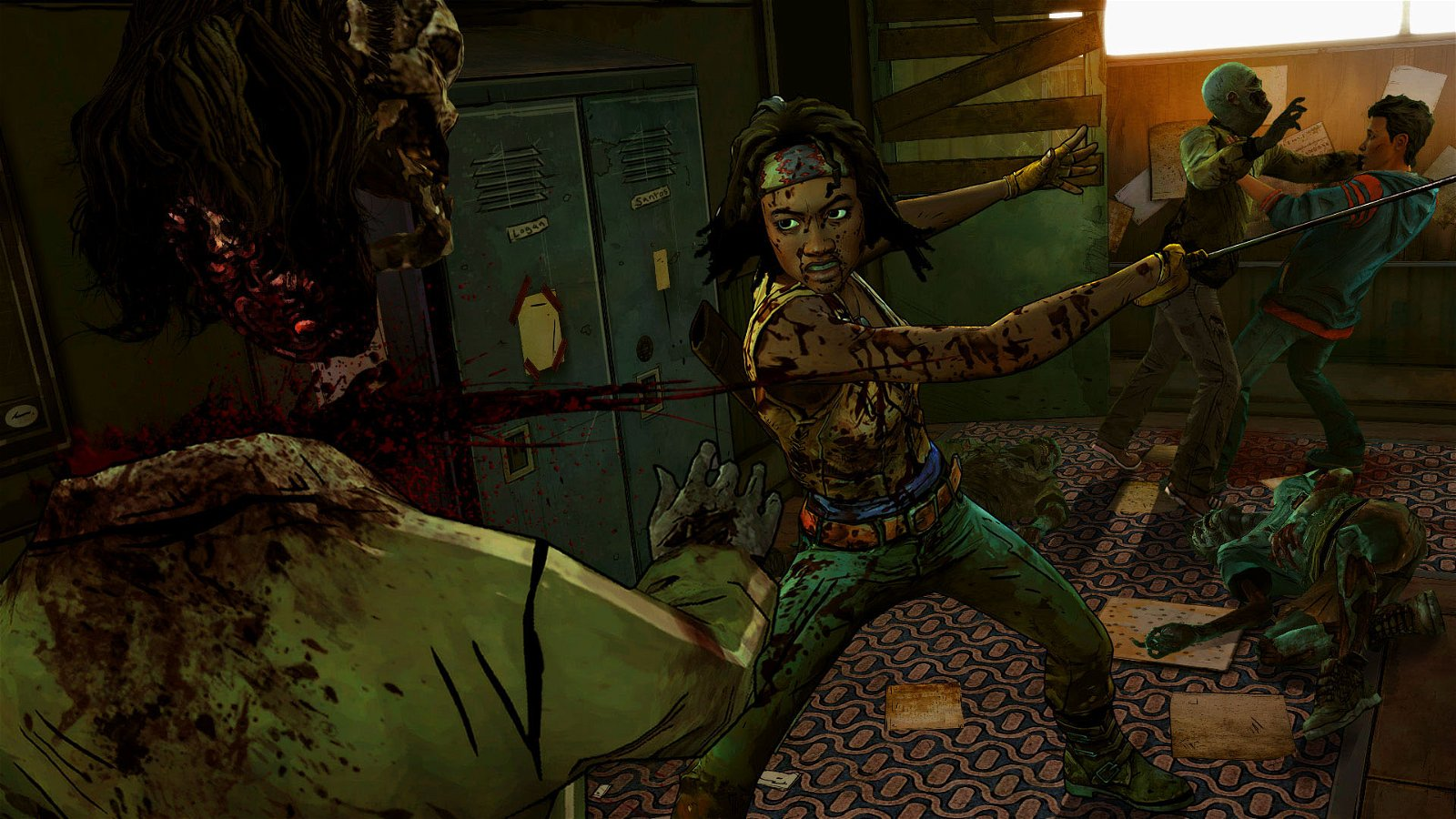 The Walking Dead: Michonne - Ep 1: In Too Deep (PS4) Review 2