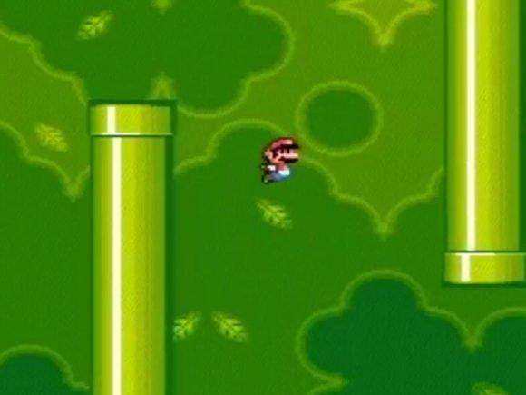 YouTuber Manually Creates Flappy Bird in Super Mario World