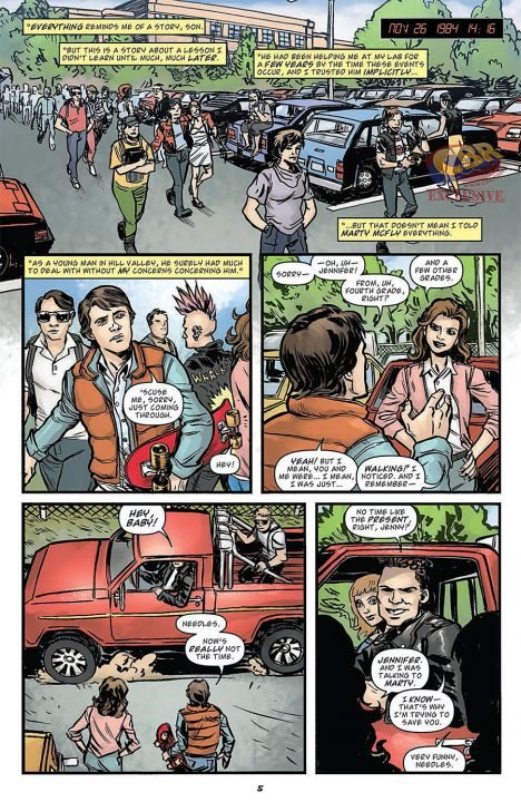 Back to the Future (Comic) Review 5