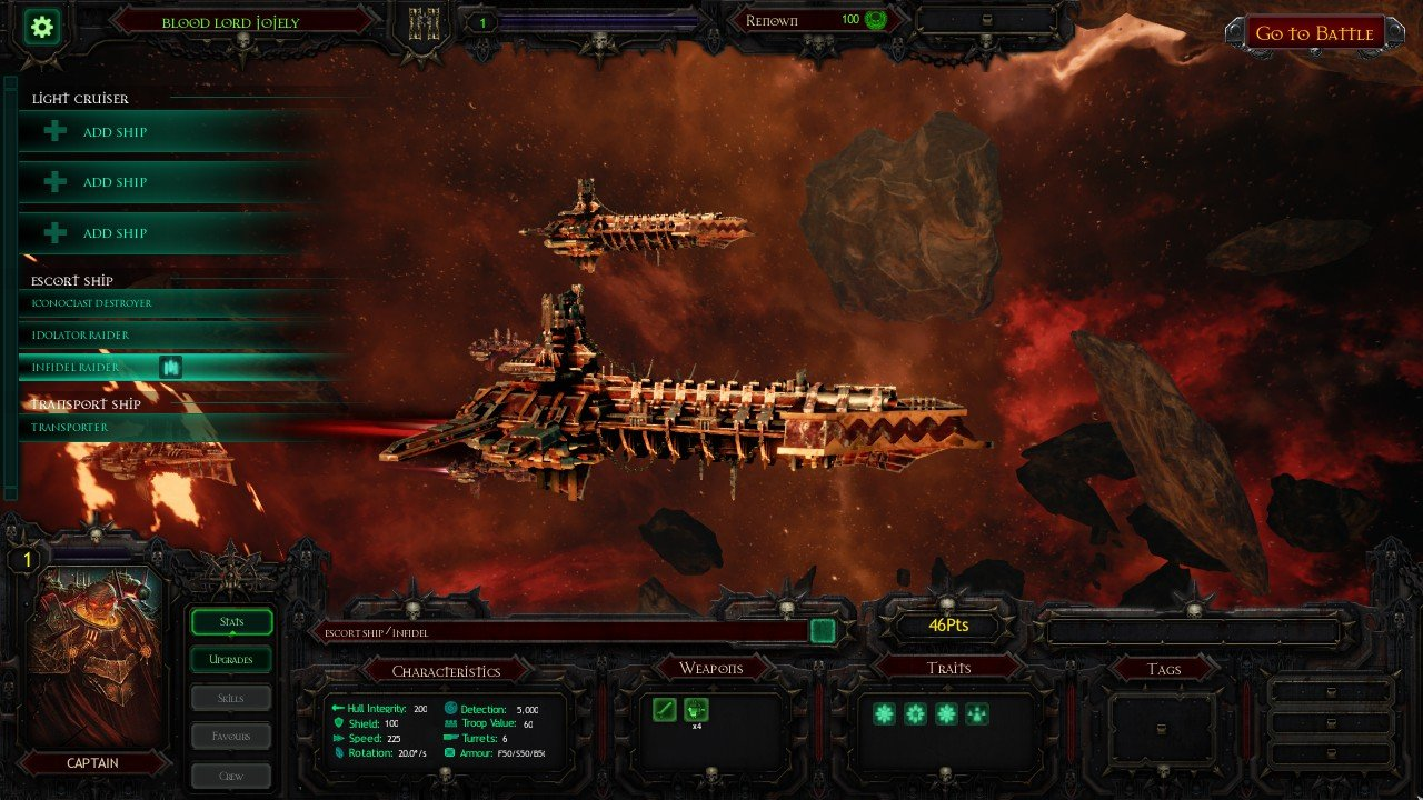Battlefleet: Gothic Armada Review 5