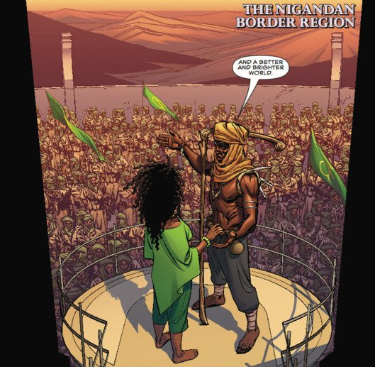 Black Panther #1 (Comic) Review 3