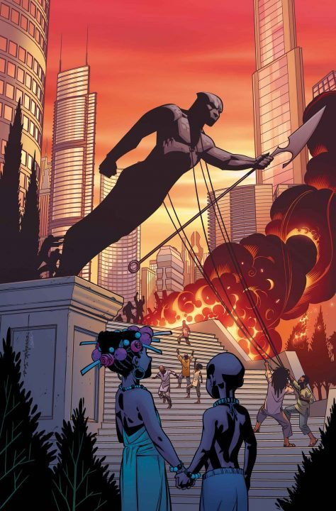 Black Panther #1 (Comic) Review 4