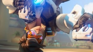 Blizzard Patches Tracer's Pose in Overwatch Beta