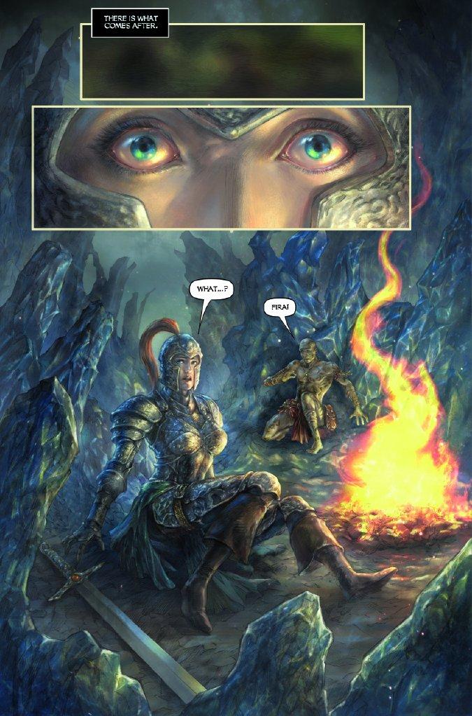 Dark Souls Comic: Interview With Writer George Mann 3