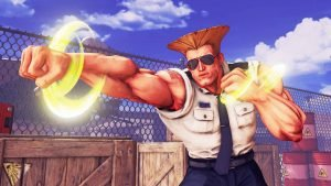 Guile joins Street Fighter V roster this month