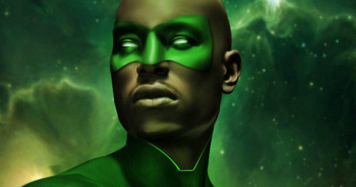 Is Tyrese Gibson The Next Green Lantern?