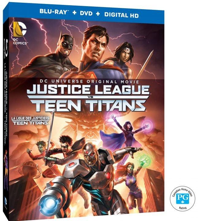 Justice League Vs Teen Titan Giveaway 2