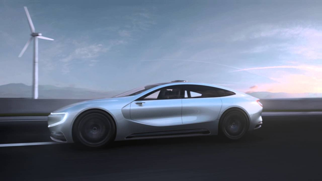LeEco Reveals Smartphone Controlled Electric Car 8