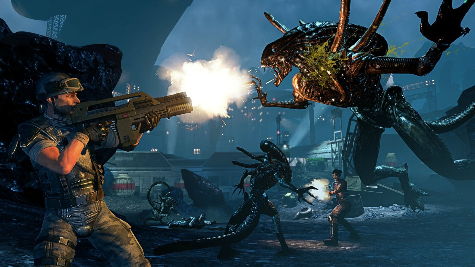 """Modder """"fixes"""" Aliens: Colonial Marines 1"""