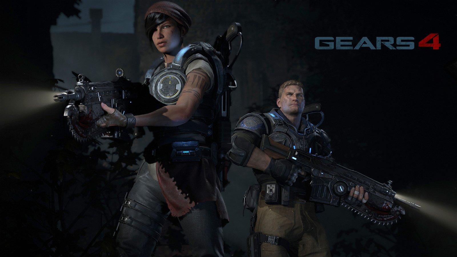 "New Gears of War 4 trailer, ""Tomorrow"", releases"