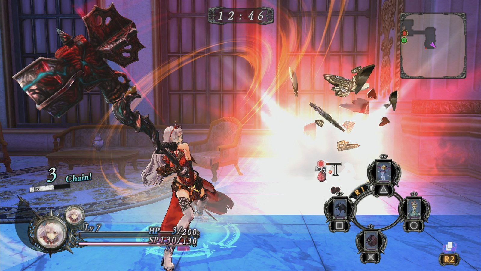 Nights Of Azure (Ps4) Review 2