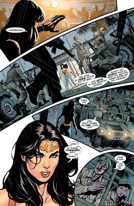 Wonder Woman: Earth One (Graphic Novel) Review 6