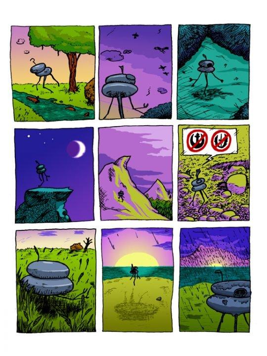Far Away Comic Print-6