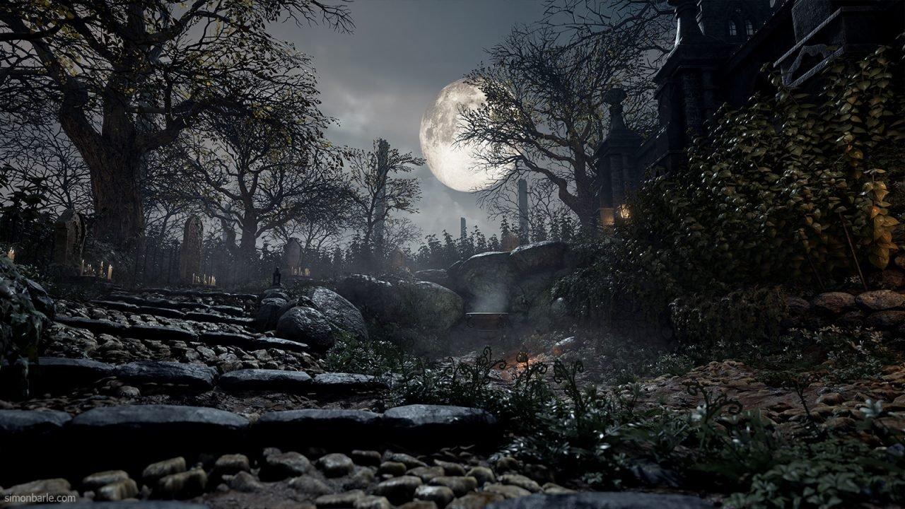 Artist Recreates Bloodborne's Environment in Unreal Engine 4 2