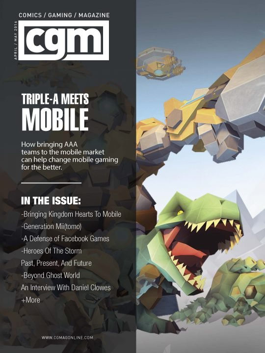 CGMagazine May 2016: Going Mobile 1