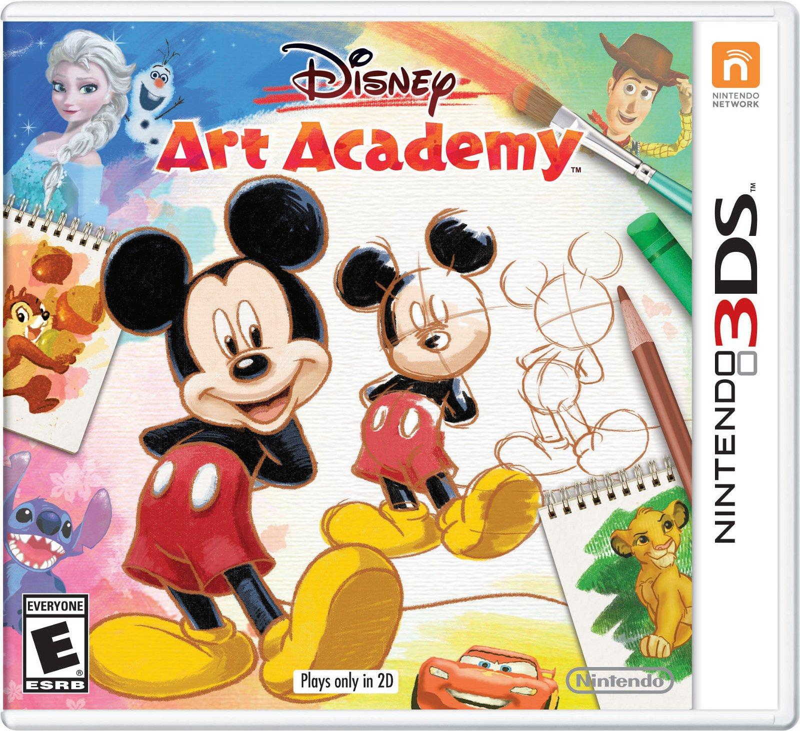Disney Art Academy (Nintendo 3DS) Review 10