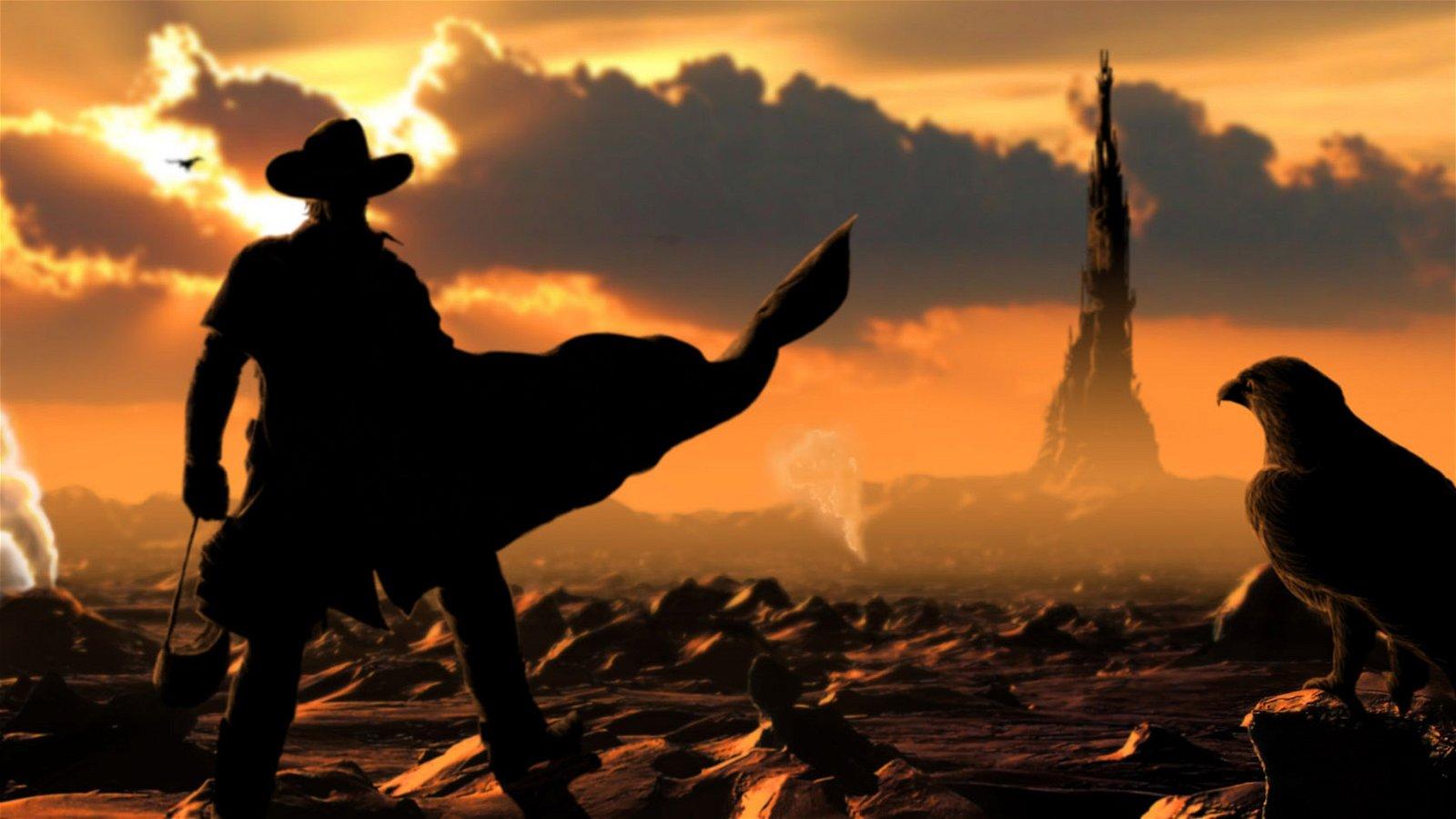 First On-Set Images Of Idris Elba As The Gunslinger Revealed 4