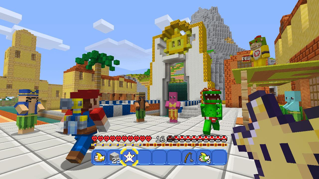 Minecraft Getting Super Mario Mash Up Pack 3
