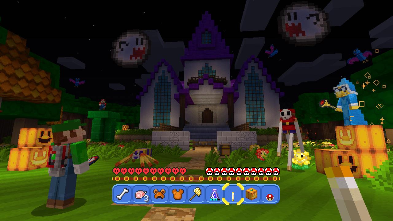 Minecraft Getting Super Mario Mash Up Pack 4