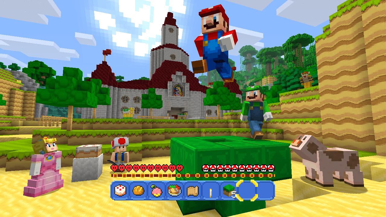Minecraft Getting Super Mario Mash Up Pack 5
