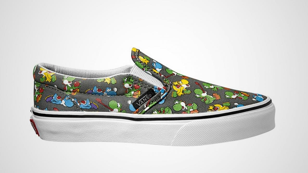 Nintendo and Vans Team Up For Shoe Line 13